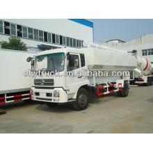 El transporte de grano a granel, camión de transporte de carga a granel, camión de transporte de grano a granel, camión de transporte a granel de alimentación de Dongfeng,
