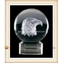 Bola de cristal de la insignia para el regalo de la promoción