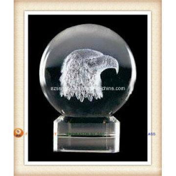 Логотип хрустальный шар для подарок промотирования