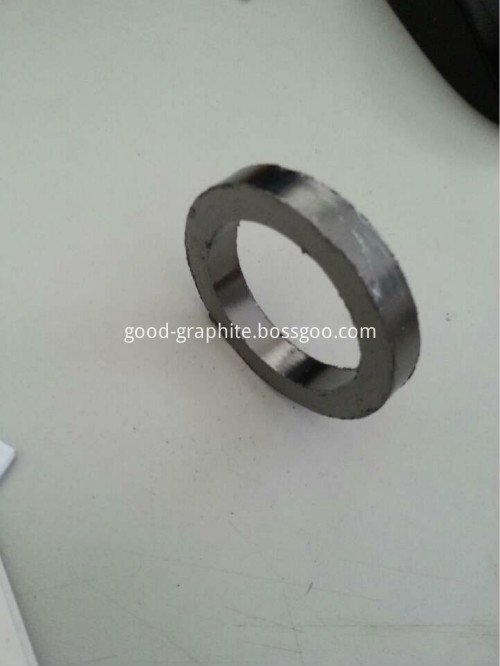 Good elasticity graphite packing ring