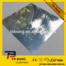 Reflective rate is very high Polished aluminum mirror sheet for lighting and decoration