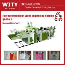 QF-450 * 2 totalmente automático máquina de saco de plástico biodegradável ultra-alta velocidade
