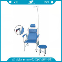 AG-TC002 blue stainless steel hospital injection high quality transfusion chair