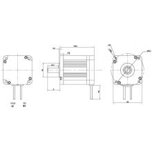 Bürstenlose Gleichstrommotoren STS 80BL
