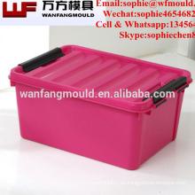 Molde plástico del envase de la inyección de China Taizhou para la compañía del molde de la caja de almacenamiento en huangyan