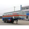 8.6m Two Axle Chemical Liquid Transport Semi-trailer