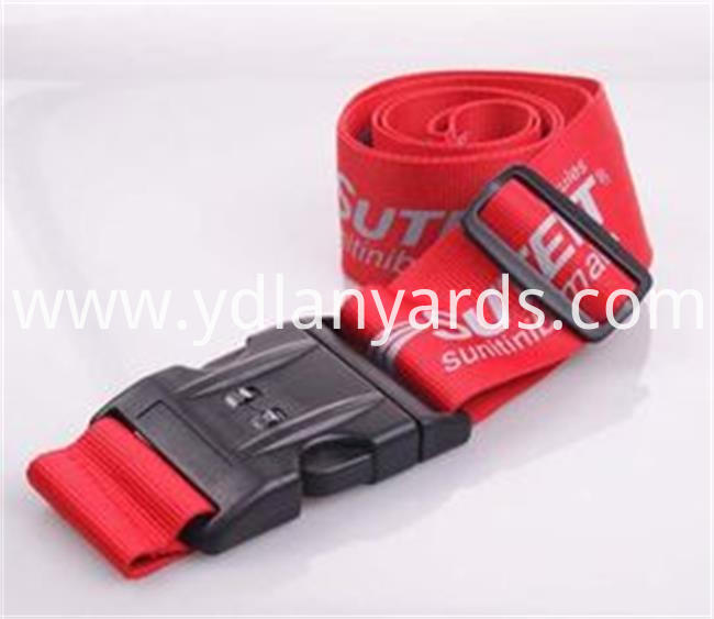 Silk Screen Luggage Strap