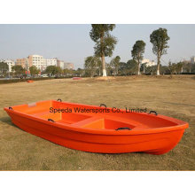 Heißer Verkauf 4m chinesisches PE-Boots-Ponton-Plastikfischen-Boot für Verkauf