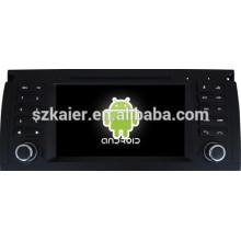 Android 4.4 Miroir-lien Glonass / GPS 1080P dual core voiture navigateur pour BMW E39 avec GPS / Bluetooth / TV / 3G