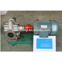 stainless steel food oil transfer gear oil pump/high pressure pump