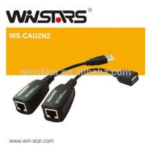 Adaptateur d'extension USB 2.0 de 150 m sans logiciel requis Extrêmement facile à installer