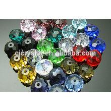 Оптовые изготовленные на заказ высеканные граненые шарики rondelle, шарики rondelle, шарики