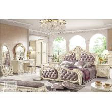 Ensemble de meubles de chambre classique de style antique (HF-MG004)
