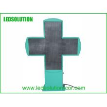 Tela de LED Cruz De Farmacia