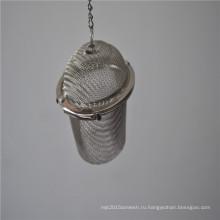 Круглая сетка из нержавеющей стали чай infuser для фильтрации