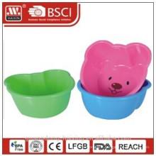 bassin en plastique ours-forme