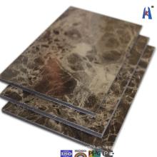 El mejor mármol de la calidad ACP usado para la pared de cortina de aluminio