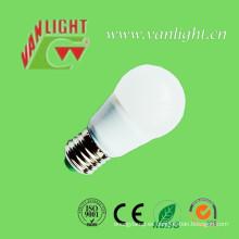 E27 Luz cálida 9 vatios LED luz LED de la lámpara efecto