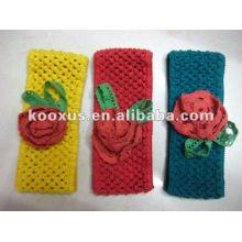 Новый стиль ребенка вязание крючком цветок