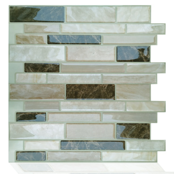 3D Wall Peel and Stick selbstklebender Backsplash