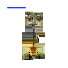 Conjunto gerador de torre de luz móvel à prova de som de 4Kw