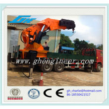 Widely Used Hydraulic Telescopic Truck Arm Cranes of Big Lifting