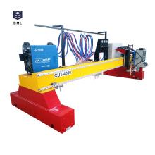 Máquina de corte por plasma CNC de pórtico de servicio pesado