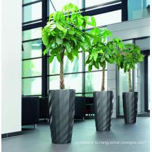 (BC-F1044) Fashionable Design Plastic Self-Watering Flower Pot