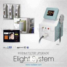 El mejor rendimiento de la venta superior de la máquina de eliminación de pelo Penlight EOS IPL RF belleza