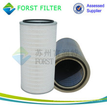 FORST High Quality Industrial Pleated Cellulose Filter Cartridge Unit