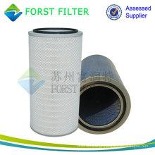FORST Unidade de cartucho de filtro de celulose plissada industrial de alta qualidade