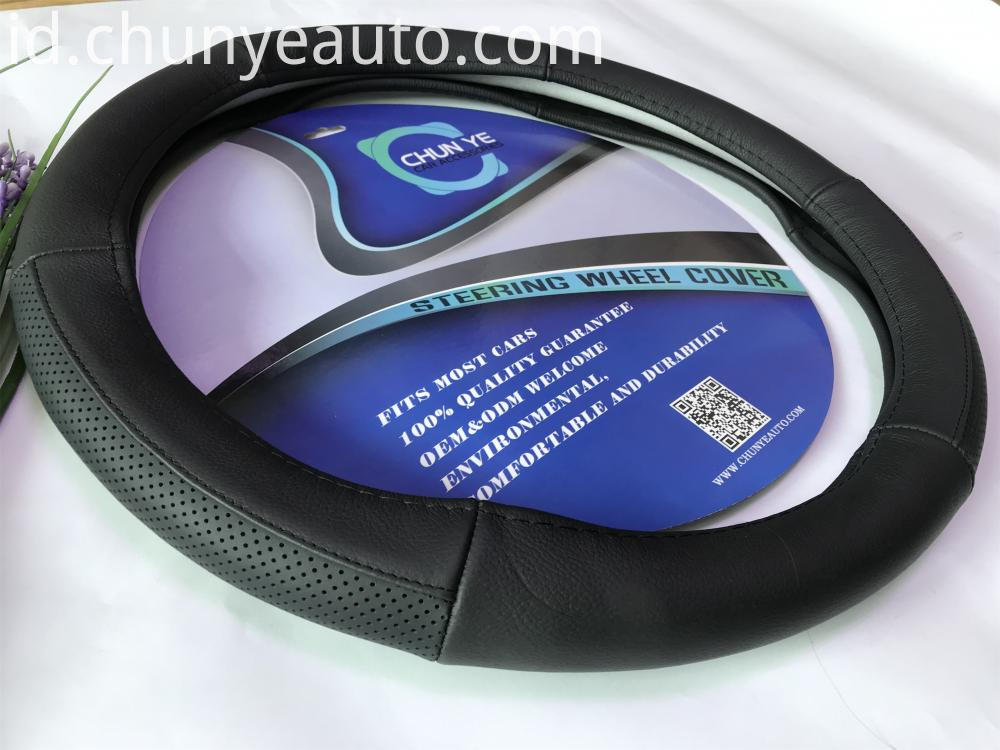 leather steering wheel cover for trucks