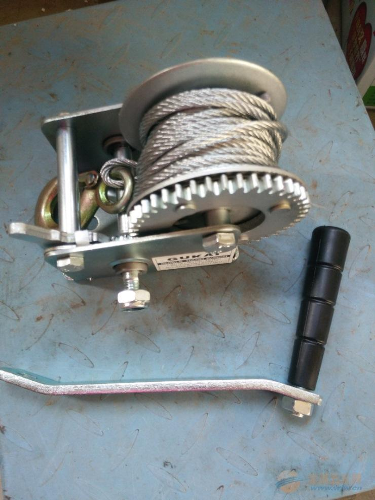 stainless steel hand winch