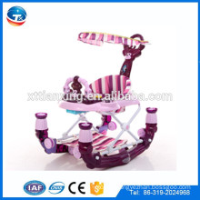 2016 New Arrival China cheap round rolling baby walker with push bar/ 2 in 1 colorful inflatable walker for baby