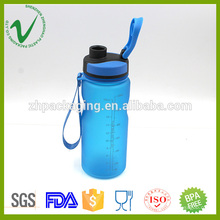 Cilindro vazio de qualidade alimentar PCTG bebendo garrafa de plástico de água de 600 ml