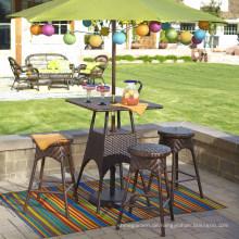 Outdoor-Möbel Rattan Garten Patio Wicker Bar Set