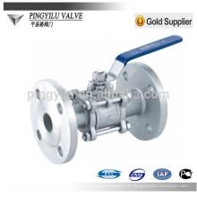 Válvula de esfera de aço inoxidável Q41F-16P