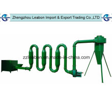 Secador de tubo del aserrín del flujo de aire de China 300-1300kgs / H