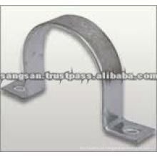 Braçadeiras de tubos de ferro galvanizado