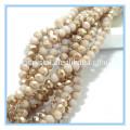 Perlas sueltas de vidrio Material Perlas separadoras sueltas