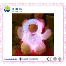 LED Pink Glowing Teddy Bear in Hot Sale