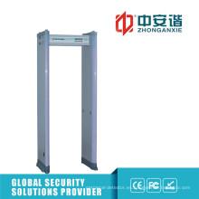 Detector de infrarrojos doble 24 zonas Detección de precisión Metal Detecor Gate
