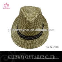 Laine feutrée chaude rose chapeau chapeau fantaisie chaude chapeaux à paille bon marché