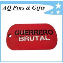 Custom Metal Dog Tag with Soft Enamel Color