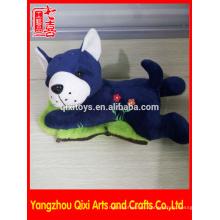 Novedad invierno mano calentador personalizado de felpa animal recargable bolsa de agua caliente perro de peluche bolsa de agua caliente eléctrica
