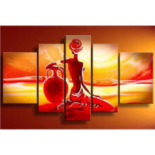 The Pure Handmade Wall Decorative People Oil Painting