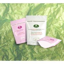 Empacotamento plástico dos cosméticos, empacotamento plástico dos cuidados pessoais, malote facial da máscara