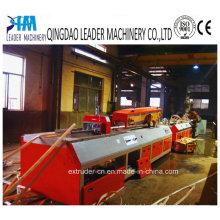 Perfil de canto do grânulo do PVC que faz a máquina a planta pequena do perfil do PVC