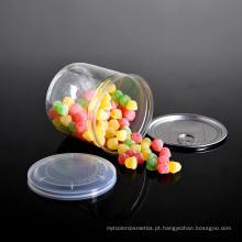 Frasco plástico do armazenamento do alimento do animal de estimação com tampa Easy-Open do alumínio (PPC-CSRN-023)