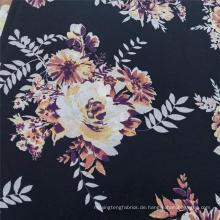 Leichtes verschwommenes Muster aus 100% Polyester-Chiffon